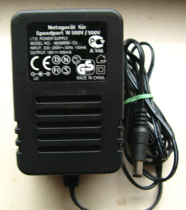 Bild 3: Wlan-Router Speedport W 500V T-Com