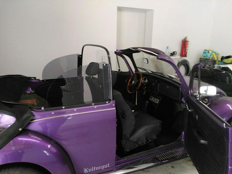 VW Käfer Sitze Cabrio Lederausstattung