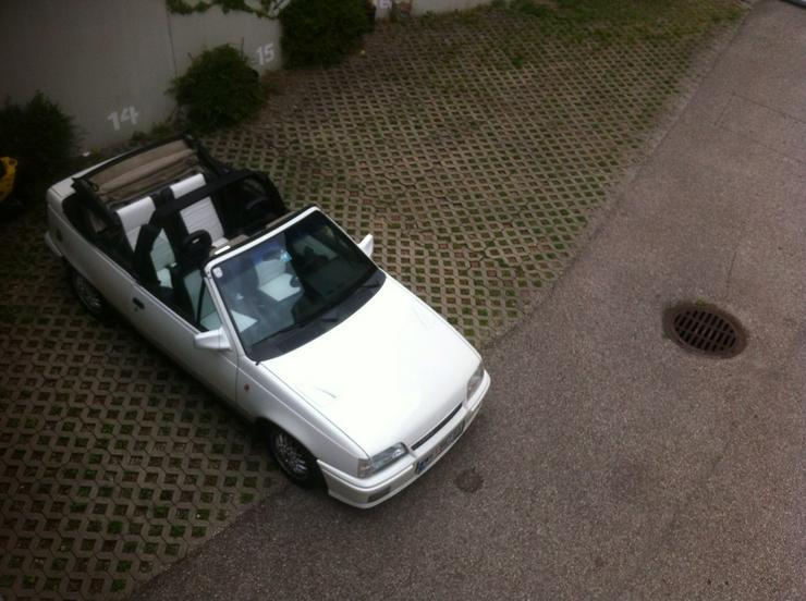 Bild 5: Opel Kadett E Lederausstattung GSI Cabrio