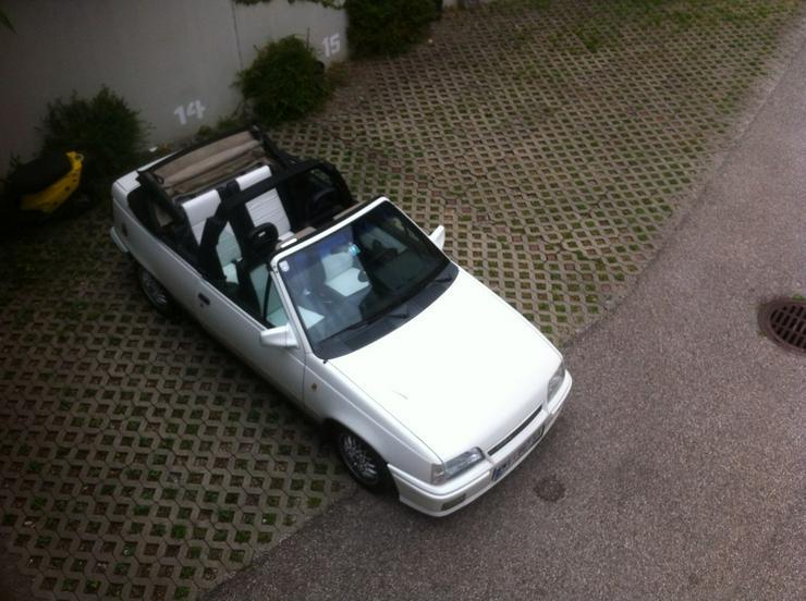 Opel Kadett E Lederausstattung GSI Cabrio