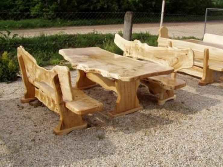 Rustikale Garnituren für Esszimmer, Terrasse