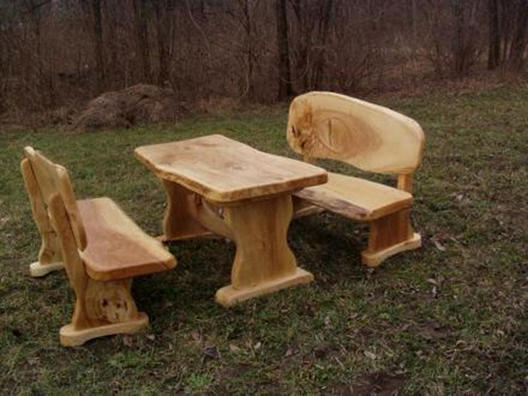 Bild 2: Rustikale Garnituren für Esszimmer, Terrasse