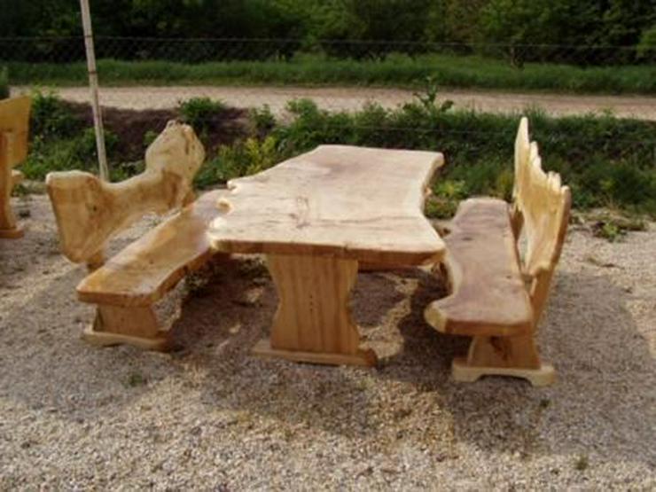 Bild 4: Rustikale Garnituren für Esszimmer, Terrasse