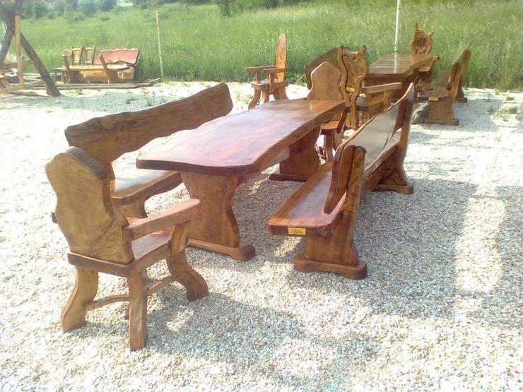 Bild 5: Rustikale Garnituren für Esszimmer, Terrasse
