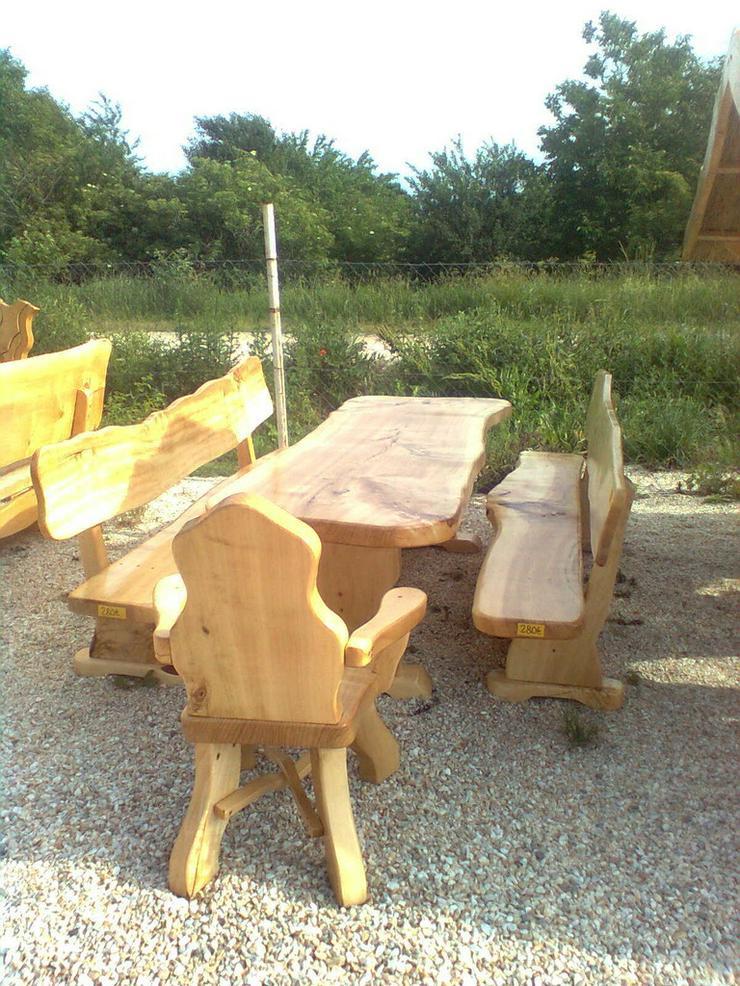 Bild 6: Rustikale Garnituren für Esszimmer, Terrasse