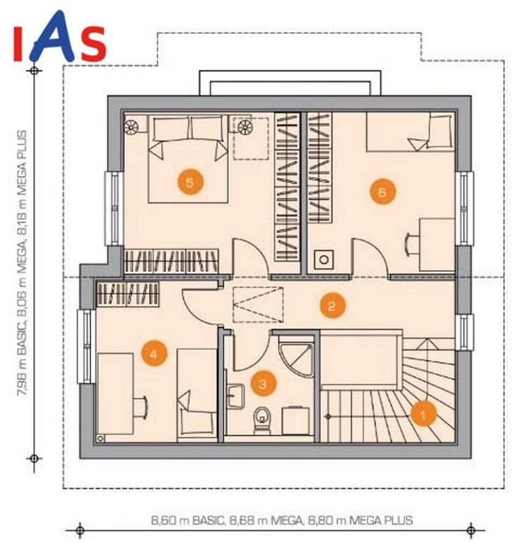 Bild 4: Ihr Hausneubau im Zentrum - hier finden Sie alles um die Ecke!