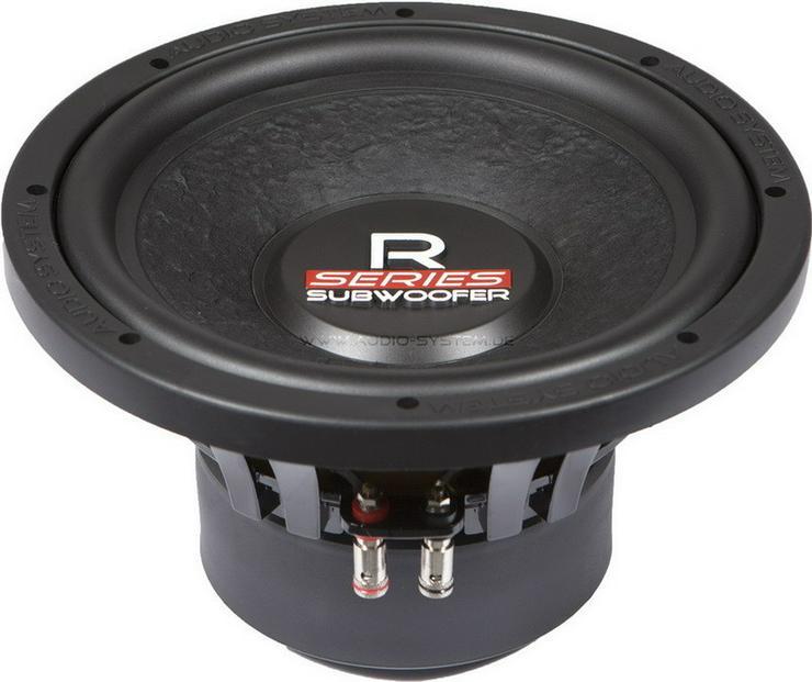 Audio System R10 25cm Subwoofer 4 Ohm 375W - Lautsprecher, Subwoofer & Verstärker - Bild 1