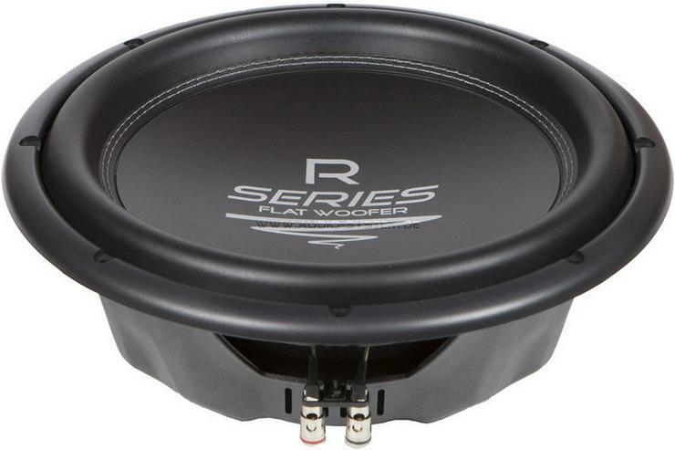 Audio System R12 Flat 30cm Subwoofer 575W NEU - Lautsprecher, Subwoofer & Verstärker - Bild 1