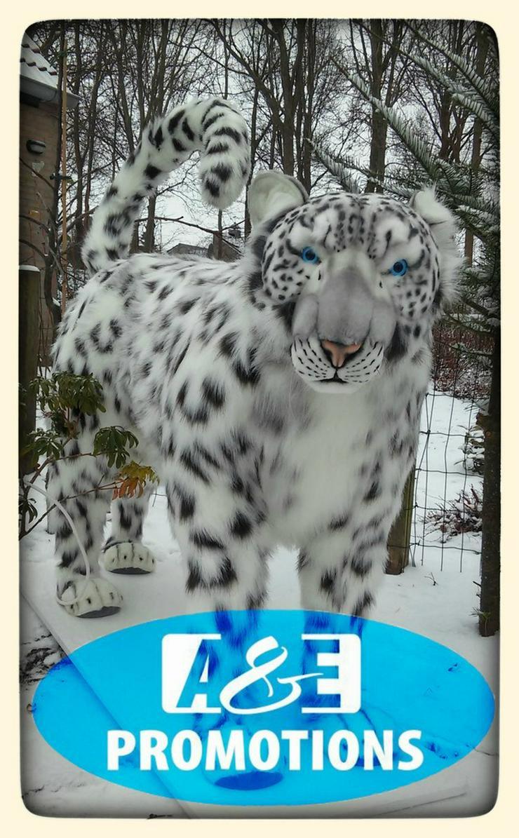 schneeleopard leihen mieten Schnee Requisiten