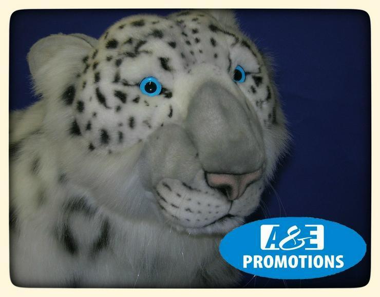 Bild 2: grosse schneeleopard Siberische schneepanter