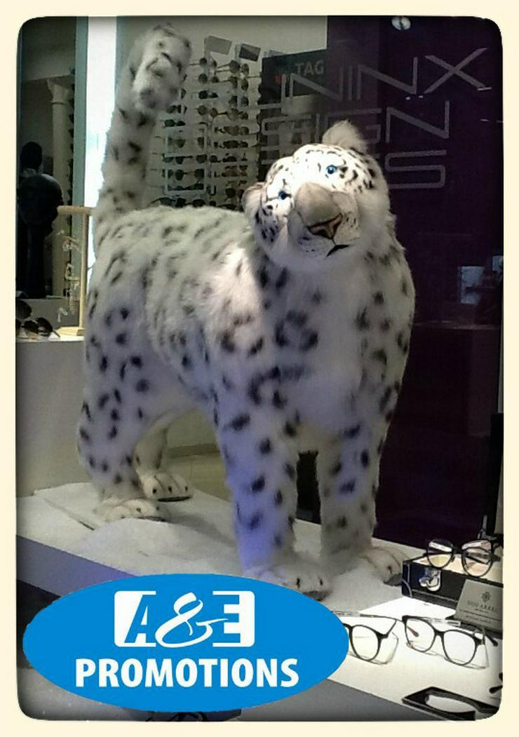 Bild 3: grosse schneeleopard Siberische schneepanter