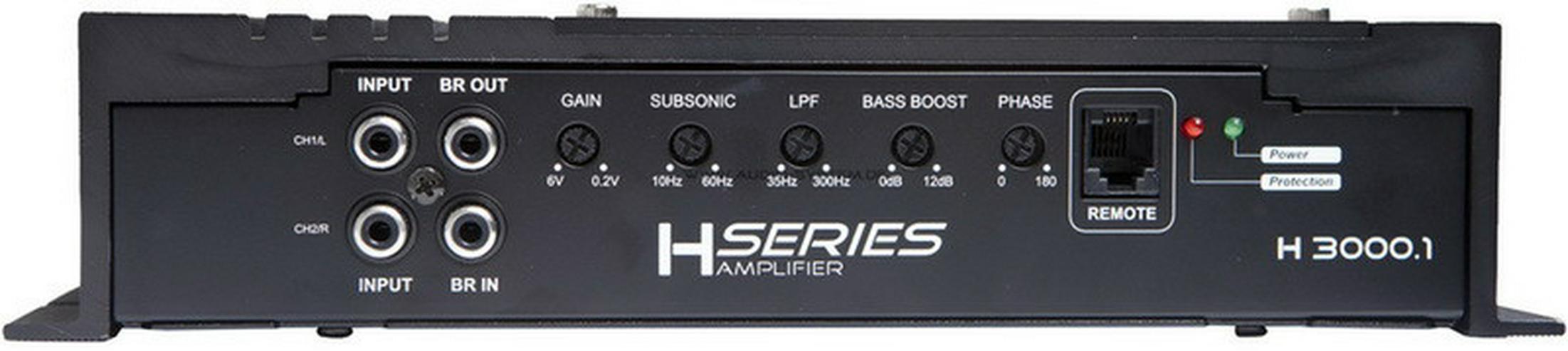 Bild 6: Audio System H3000.1D Helon Endstufe 3000W