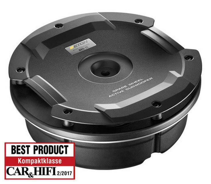 ETON 25 cm Aktivsubwoofer für die Reserverad - Lautsprecher, Subwoofer & Verstärker - Bild 1