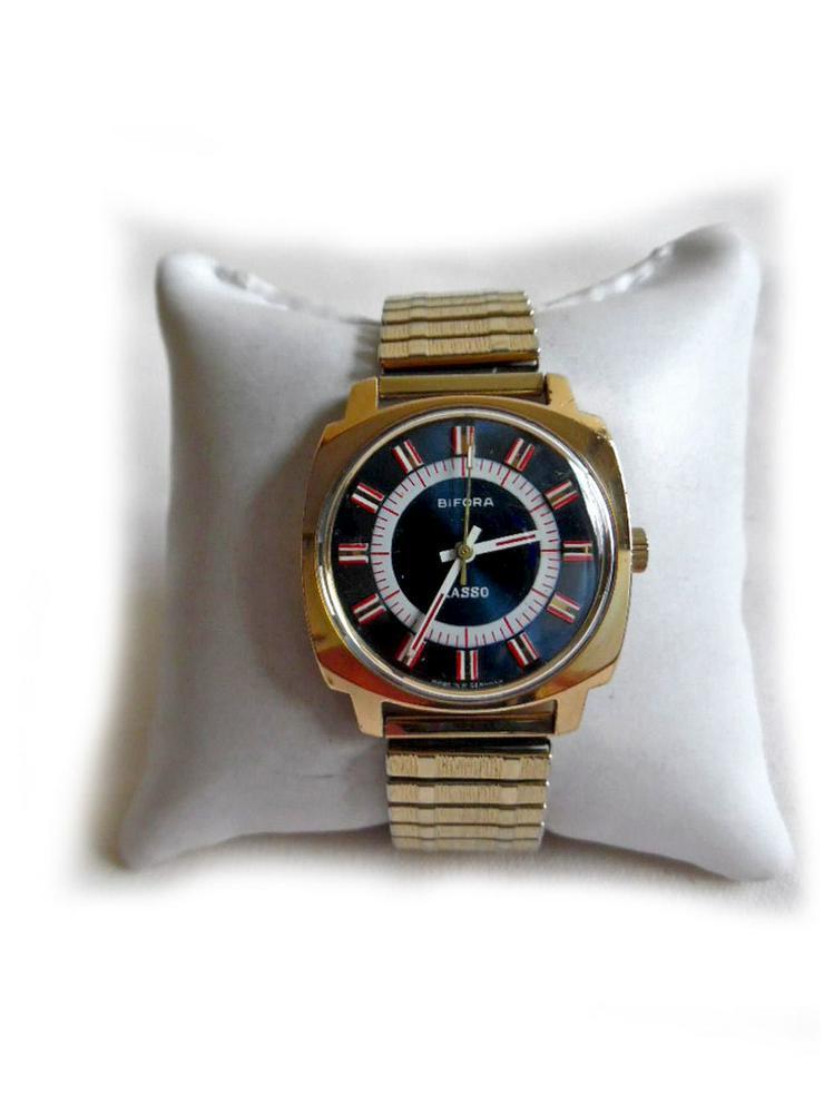 Seltene Armbanduhr von Bifora - Herren Armbanduhren - Bild 1