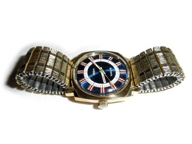 Bild 3: Seltene Armbanduhr von Bifora