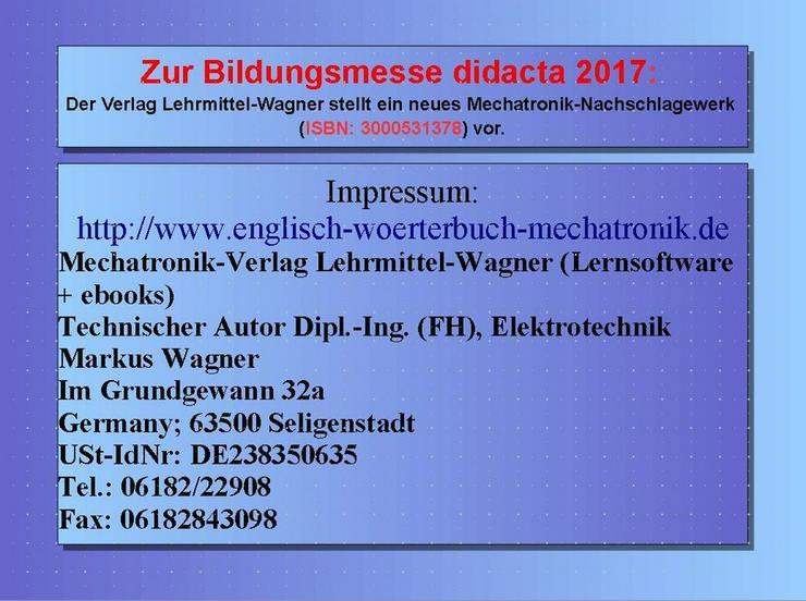 Bild 5: didacta 2017: Highlight Lexikon Mechatronik