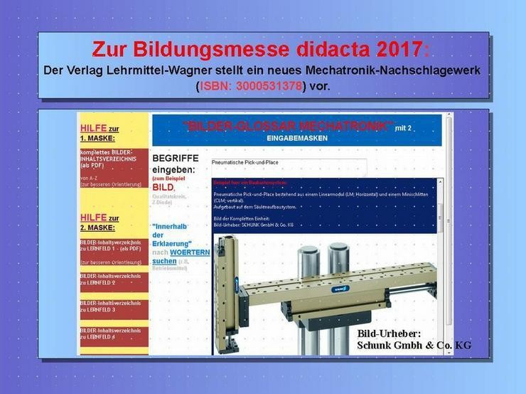 Bild 4: didacta 2017: Highlight Lexikon Mechatronik
