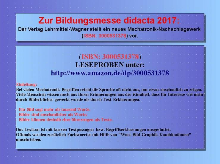 Bild 3: didacta 2017: Highlight Lexikon Mechatronik