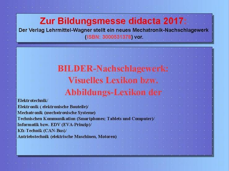 Bild 2: didacta 2017: Highlight Lexikon Mechatronik