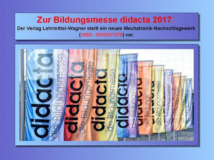 didacta 2017: Highlight Lexikon Mechatronik