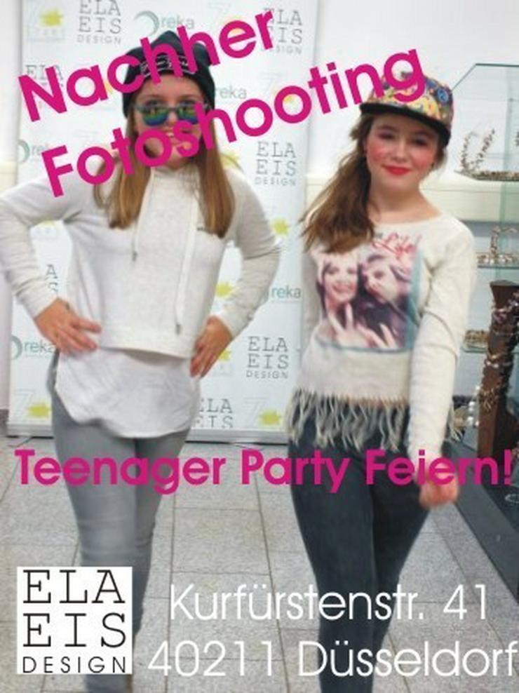 Fotoshooting Geburtstag Party Teenager
