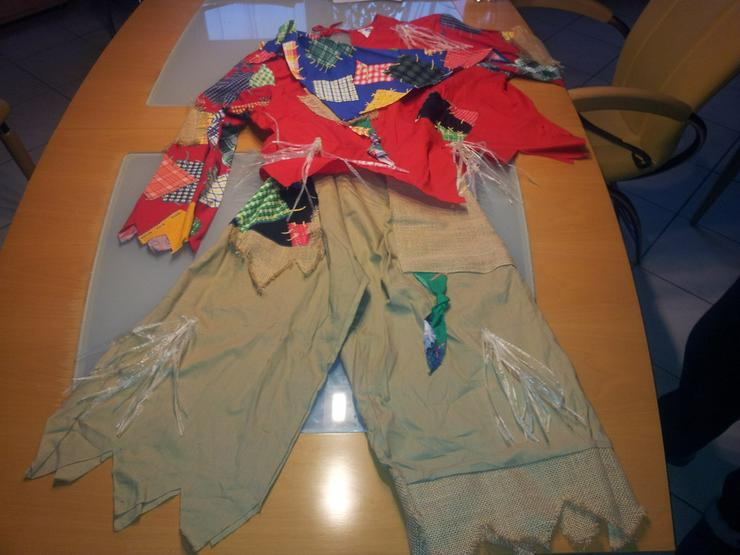 Vogelscheuchen Kostüm Fastnacht Größe 44