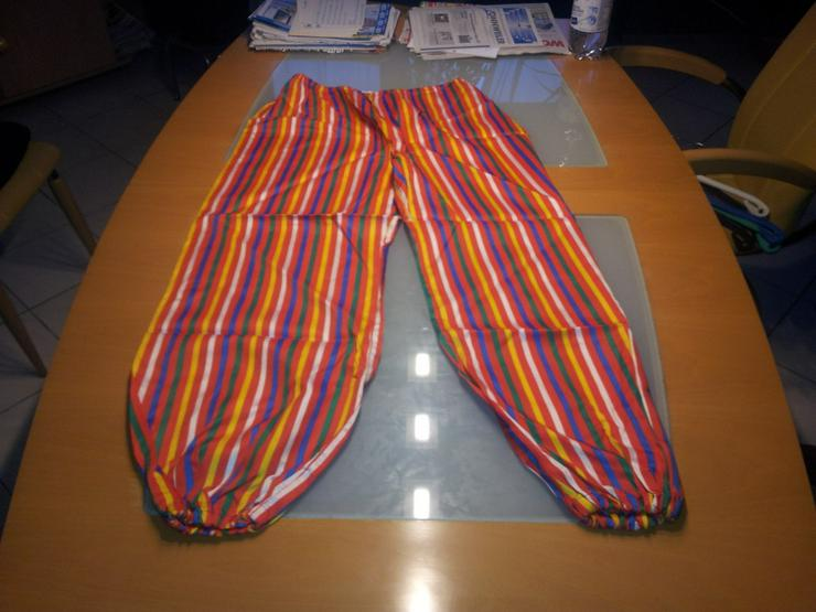 Hose mit Streifen (Clown Hose) Größe 40/42 - Bild 1
