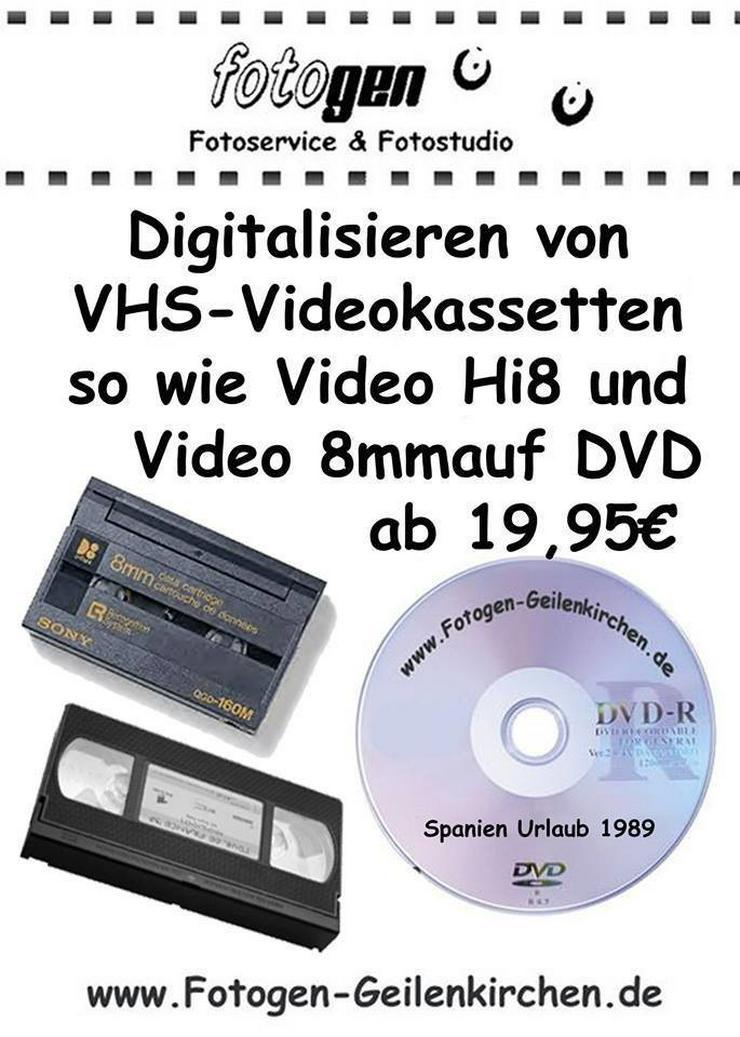 VHS HI8 Videokassetten digitalisieren - Musik, Foto & Kunst - Bild 1