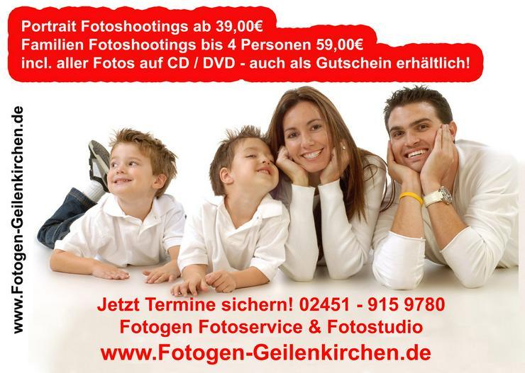 Portrait oder Familienfotos ab 39, 00EUR