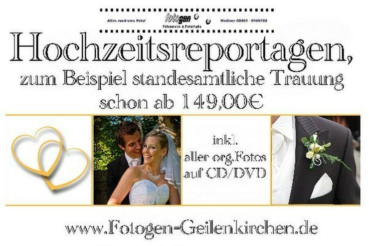 Hochzeitsfotos Standesamt ab 149,00€