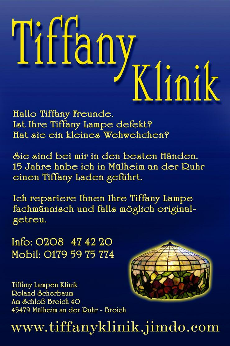 Tiffany Lampen Reparatur Fusing Kunst Mainz