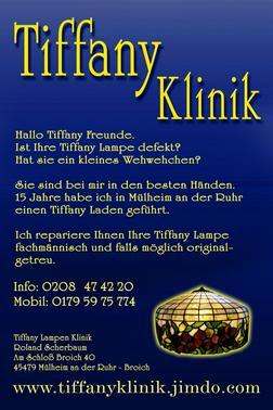 Tiffany lampen reparatur rostock in rostock mecklenburg for Lampen reparatur