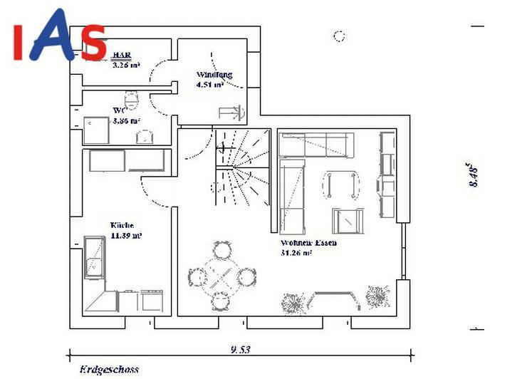 Bild 2: *Ruhe genießen* auf dem Land im neuen schmucken Haus... und in Kürze in der Stadt!
