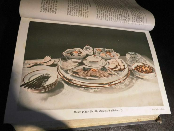 Antikes Kochbuch Henriette Davidis 1932, Prakt - Kochen - Bild 6