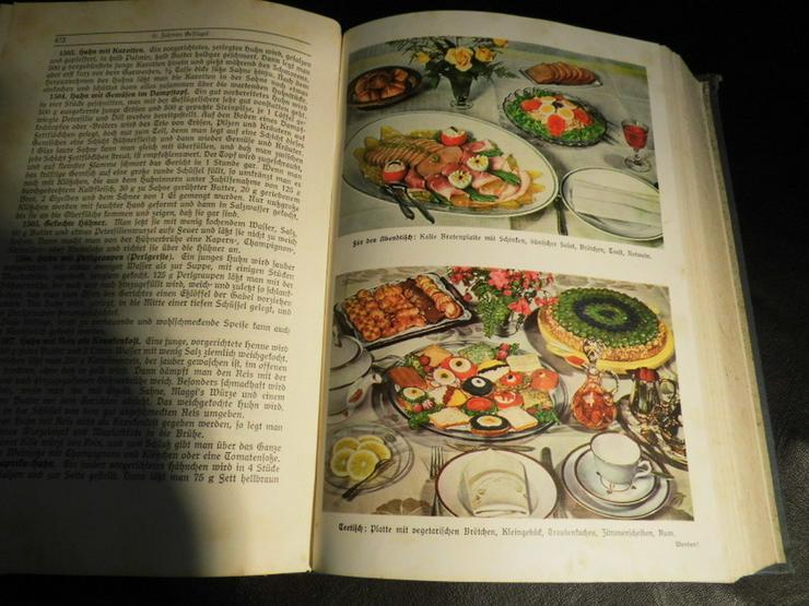 Bild 7: Antikes Kochbuch Henriette Davidis 1932, Prakt