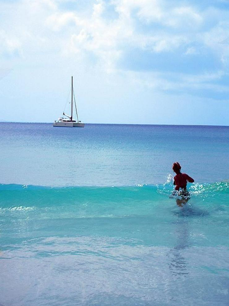 Bild 16: Segeln im Traumrevier Seychellen auf Katamaran