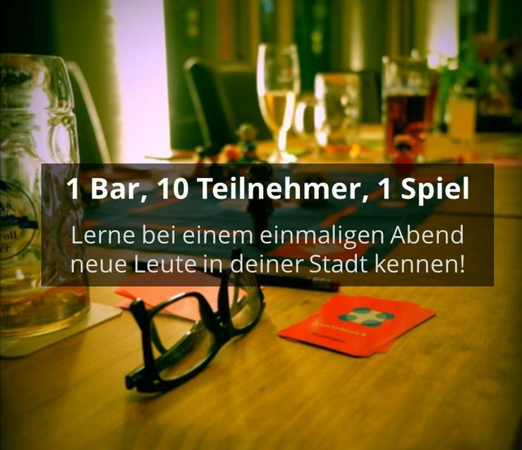 Spielerisch neue Leute kennenlernen - Socialmatch Berlin
