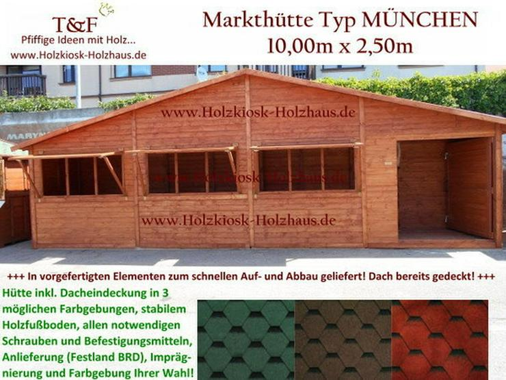 markth tte marktbude verkaufsh tte 10mx2 5m neu in rostock. Black Bedroom Furniture Sets. Home Design Ideas