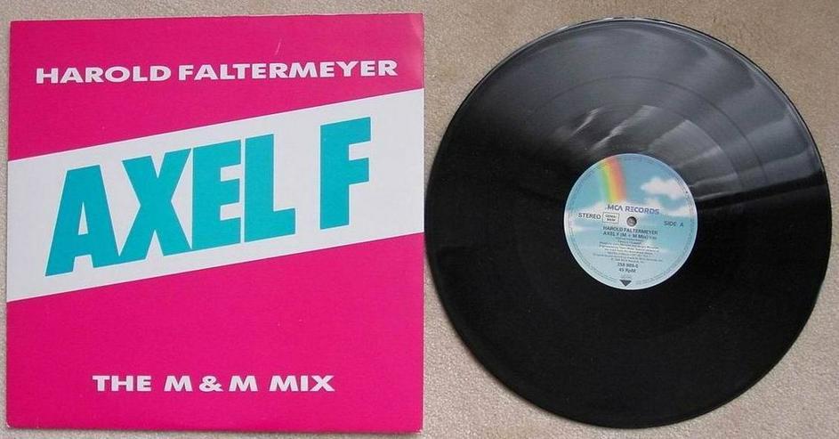 Harold Faltermeyer - Axel F-the M&M mix (LP)