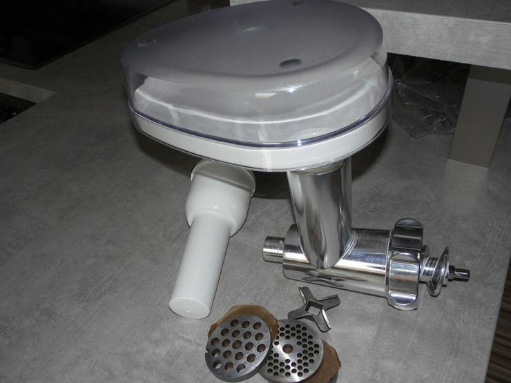 Bild 3: Kenwood Chef Classic KM 400 mit viel Zubehör