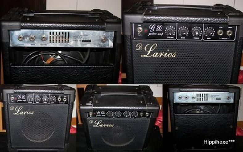 Gitarrenverstärker D. Larios G20 - Verstärker & Effekterzeugung - Bild 1