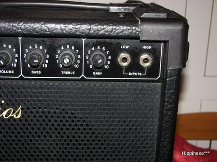 Bild 5: Gitarrenverstärker D. Larios G20
