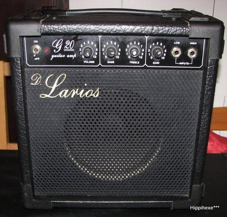 Bild 3: Gitarrenverstärker D. Larios G20