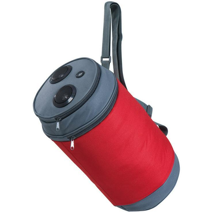 Bild 3: Kühltasche mit Lautsprecher - Red