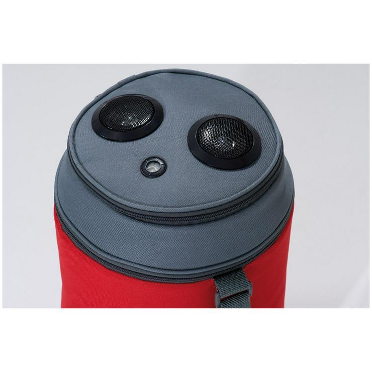 Bild 2: Kühltasche mit Lautsprecher - Red