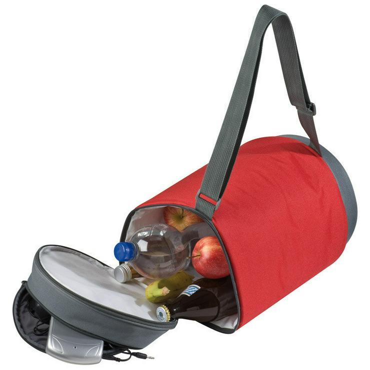 Bild 4: Kühltasche mit Lautsprecher - Red