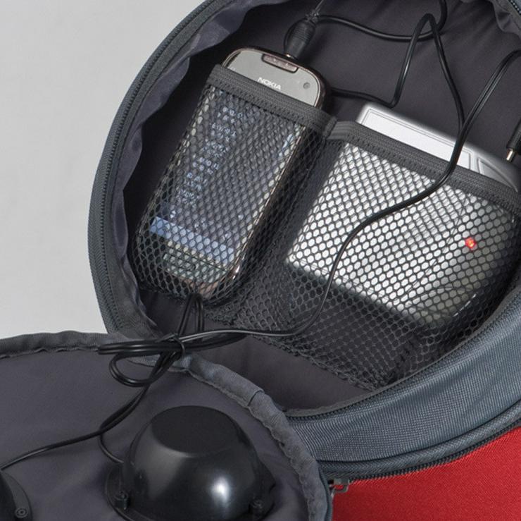 Bild 5: Kühltasche mit Lautsprecher - Red