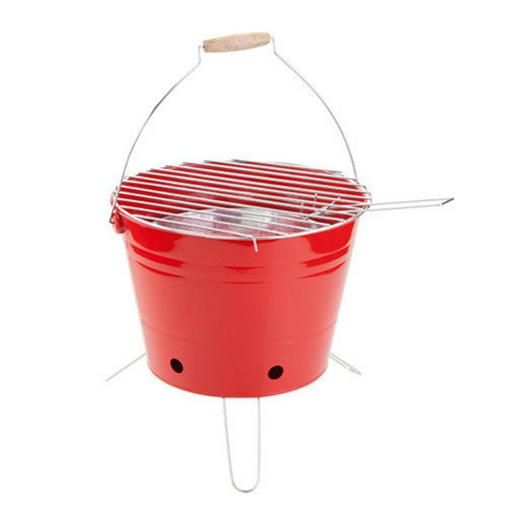 Bild 4: GRILL KABROX  Orange Grill-Eimer Bucket
