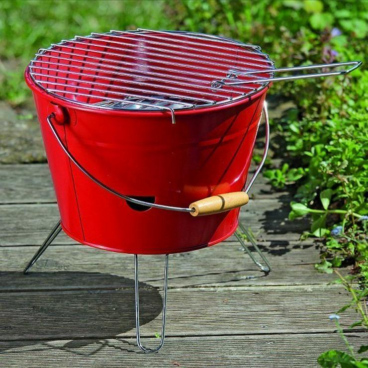 Bild 3: GRILL KABROX  Orange Grill-Eimer Bucket