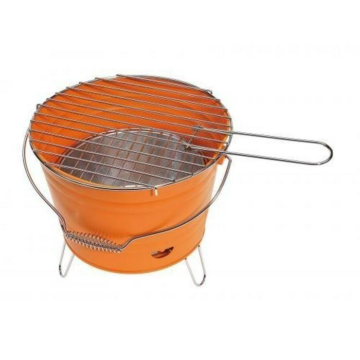 Bild 2: GRILL KABROX  Orange Grill-Eimer Bucket